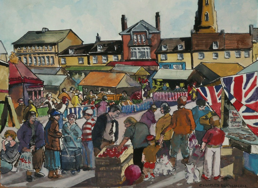 Market Day-Olney