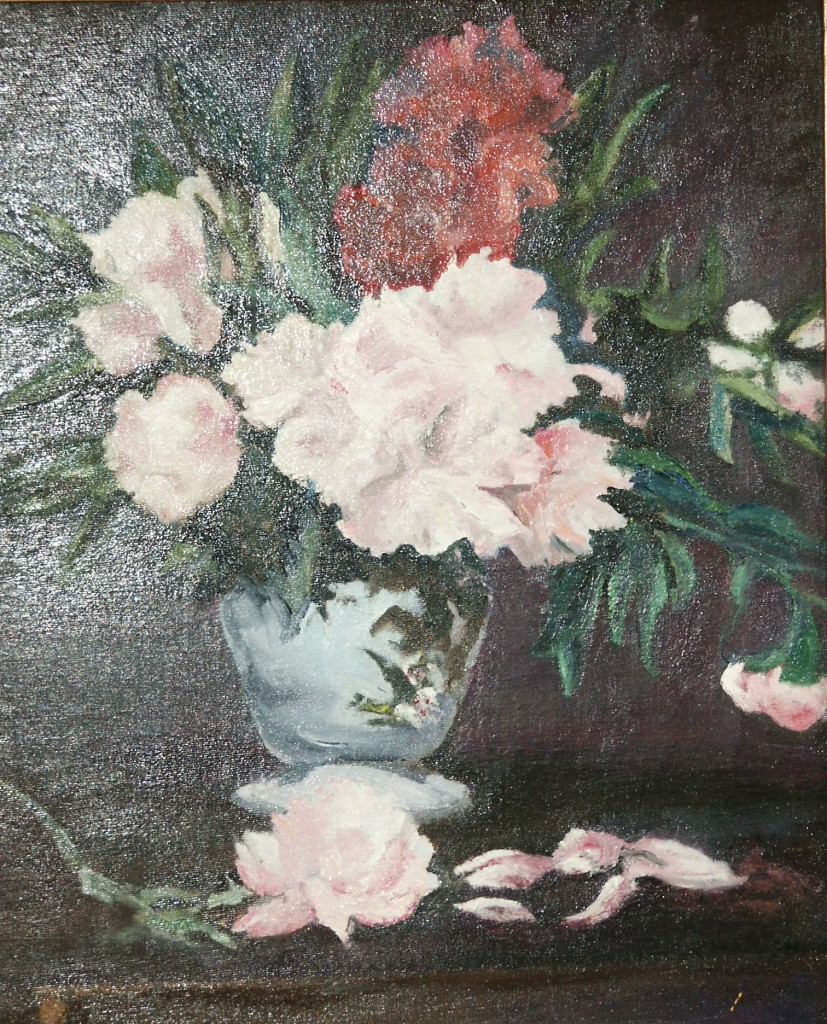 Manet's Paeonies