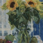Sunflowers (Embroidery)